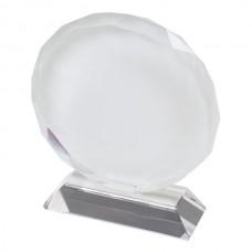 Фотокристалл подсолнечник 10 см стеклянный для нанесения изображения