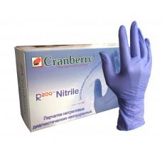 Одноразовые нитриловые перчатки Cranberry
