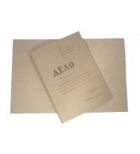 Папка - скоросшиватель из картона