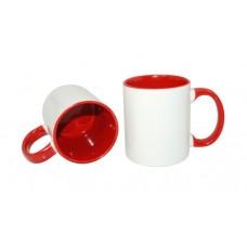 Двухцветная керамическая чашка 11oz